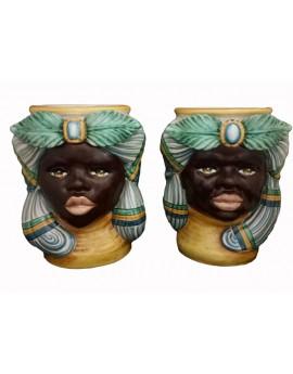 Coppia di mori africani classici