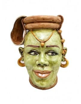 Testa di Moro donna Africana